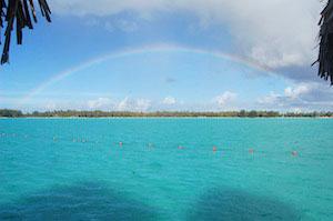 Rainbow300x200-over Bora Bora St. Regis Motu