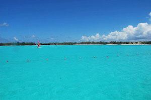 St. Regis Bora Bora View to Beach