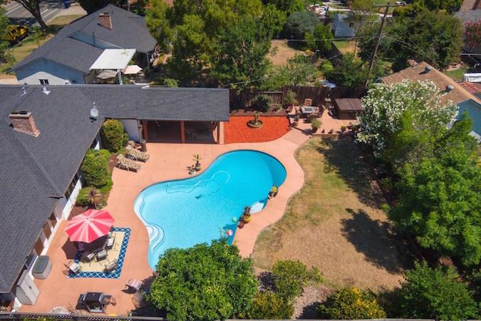 pool home in carmichael