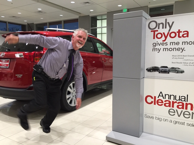 Buying A New Car In Sacramento Is Like Burning In Hell