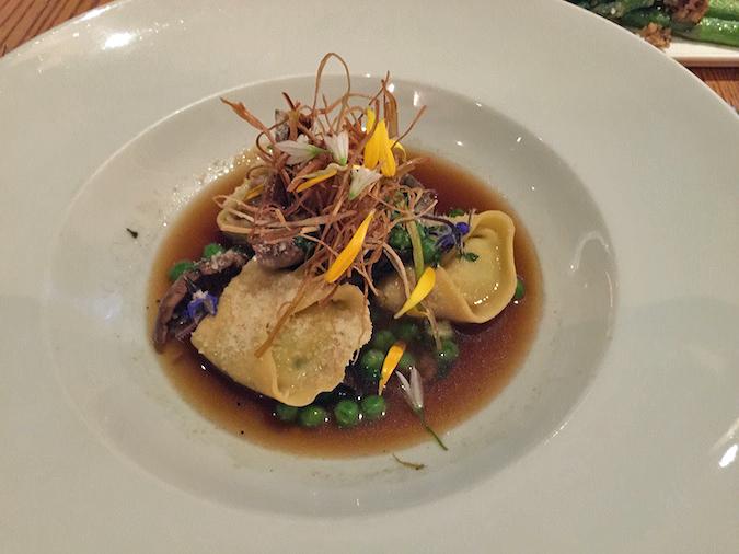 Artichoke and mascarpone tortellini