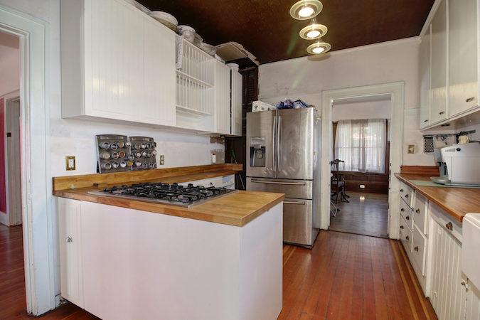 Updated kitchen 2704 S Street