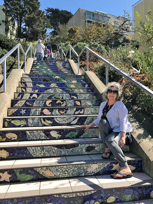 Mosaic Stairs San Francisco