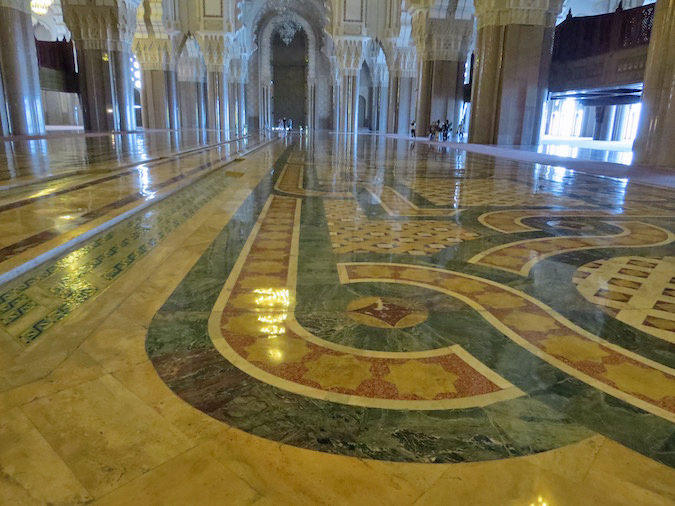 Visit To The Hassan Ii Mosque In Casablanca Morocco
