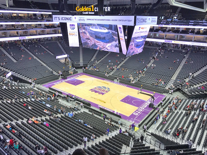 golden 1 center