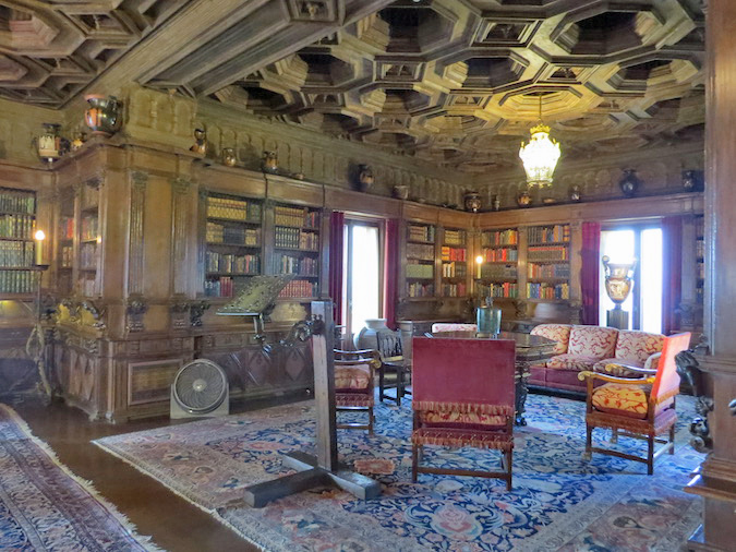 hearst castle upstairs suites tour