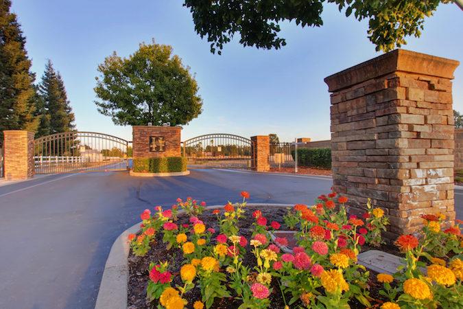 gated community in Elk Grove