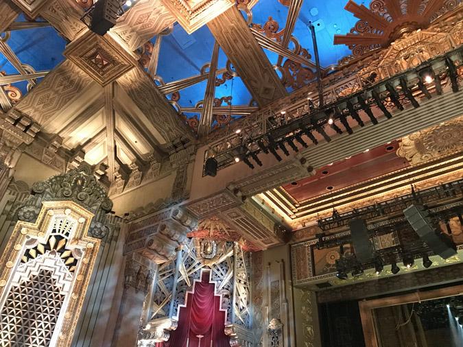 Hamilton at the Hollywood Pantages