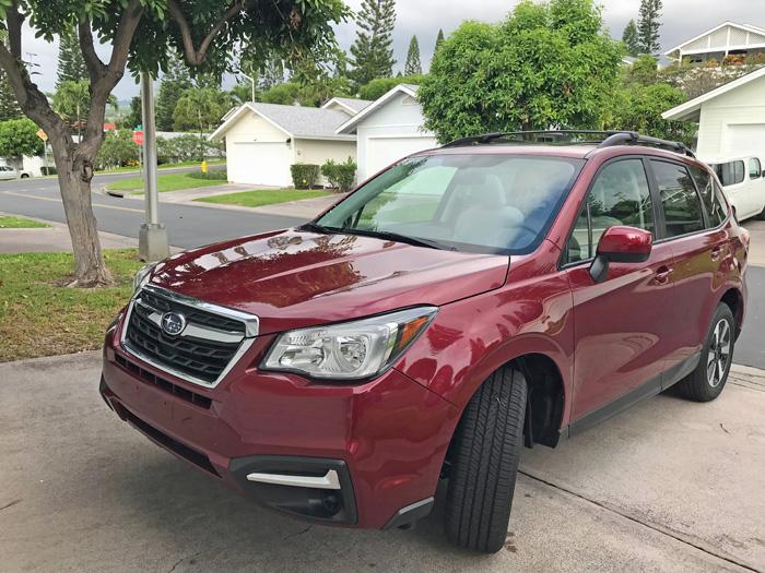 ship a Subaru to big island