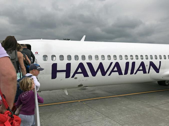 sacramento on Hawaiian airlines
