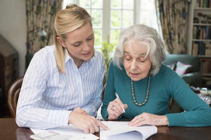 signing with a power of attorney