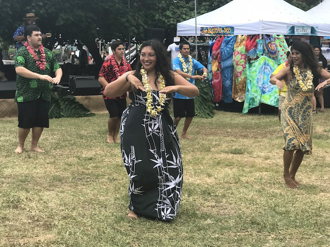 Hulihe'e Palace celebration King Kamehameha Day in Kona 2018