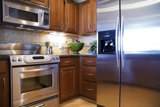 buying new kitchen appliances