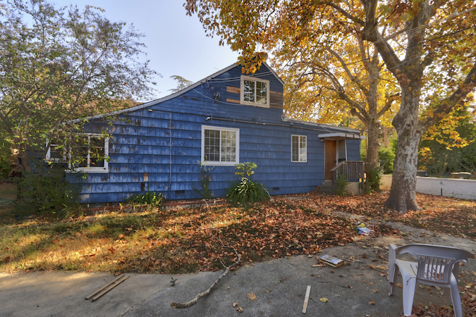 two fixer houses on a lot in Citrus Heights
