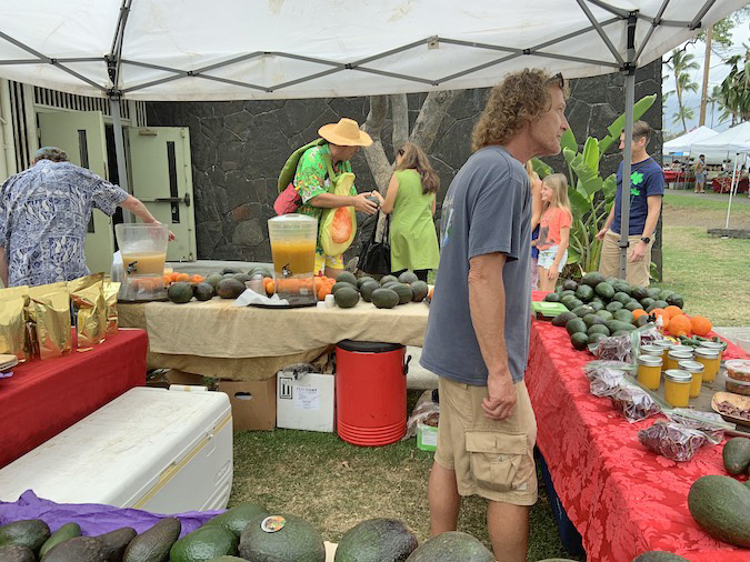 Hawaii avocado Festival