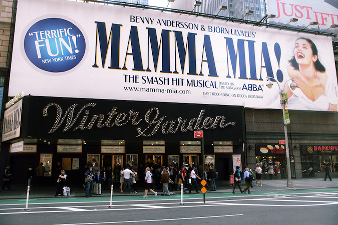 mamma mia at the aloha theatre