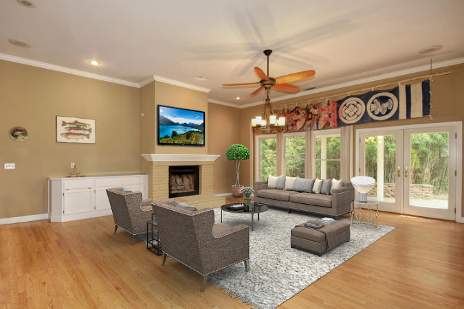 virtual staging a home