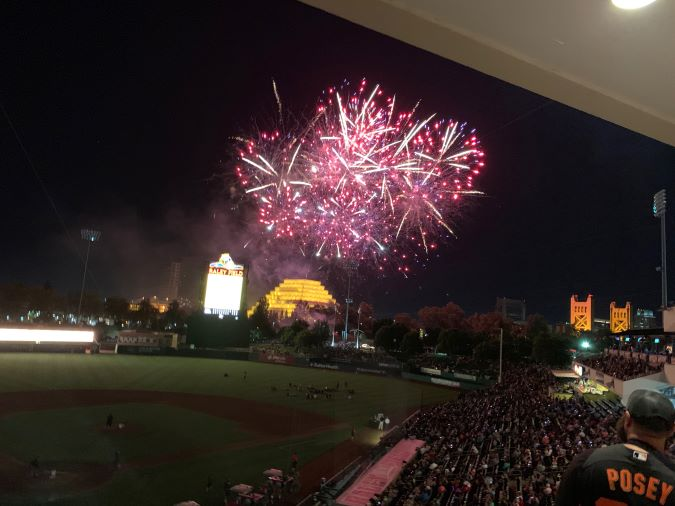West Sacramento Fireworks